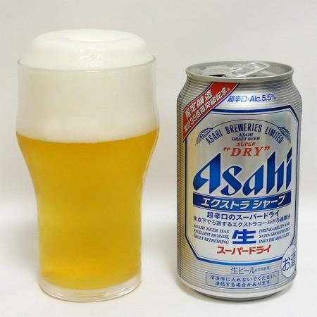 アサヒビール スーパードライ エクストラシャープ