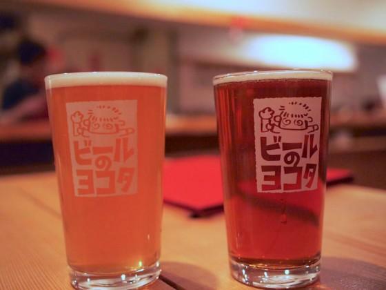ベアードブルーイング特別醸造・ブロンプトンエール(写真右)