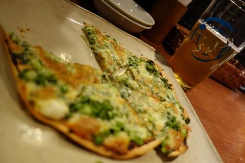 赤味噌ピザ
