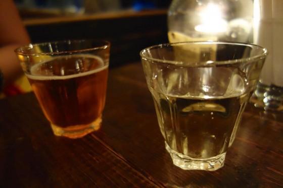 シードルと白ワイン