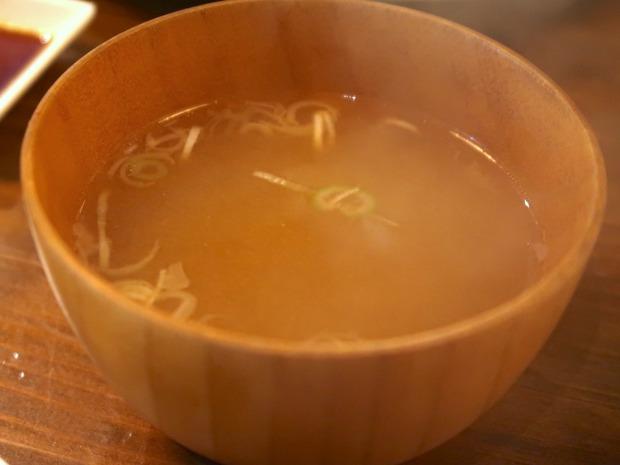 〆はお味噌汁
