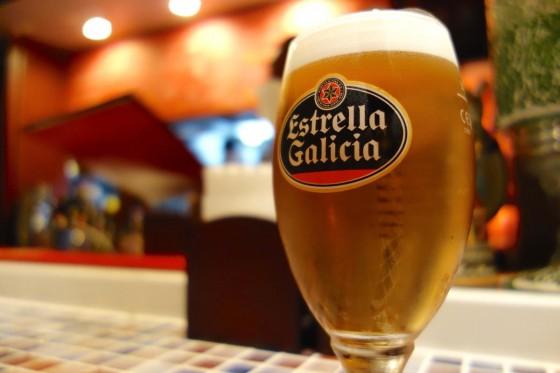 スペインビール エステーリャ