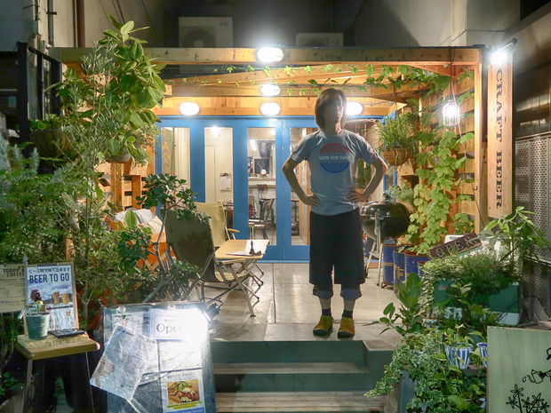 大阪・京町堀 CRAFT BEER BASE garden
