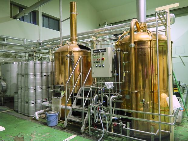 銅製のタンク