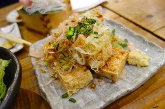 島豆腐の厚揚げ(480円)