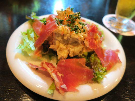 ワインに合うポテトサラダ(450円)