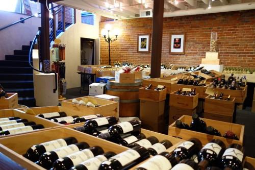 ワインもたくさん