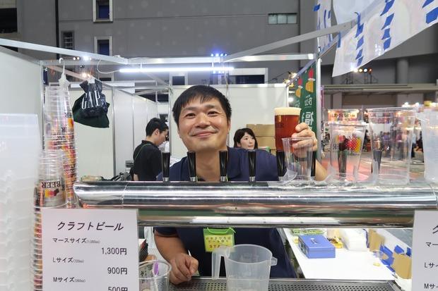 みちのく福島路ビール 吉田さん