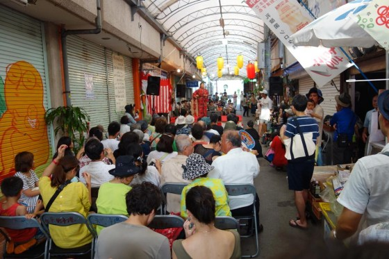 栄町市場 屋台祭り