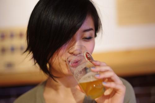 美人×麦酒 彩子さん