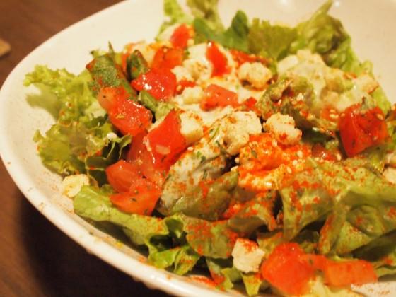 海老とアボカドのワサビクリーミーサラダ