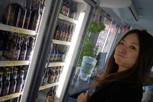 ビールを選ぶ