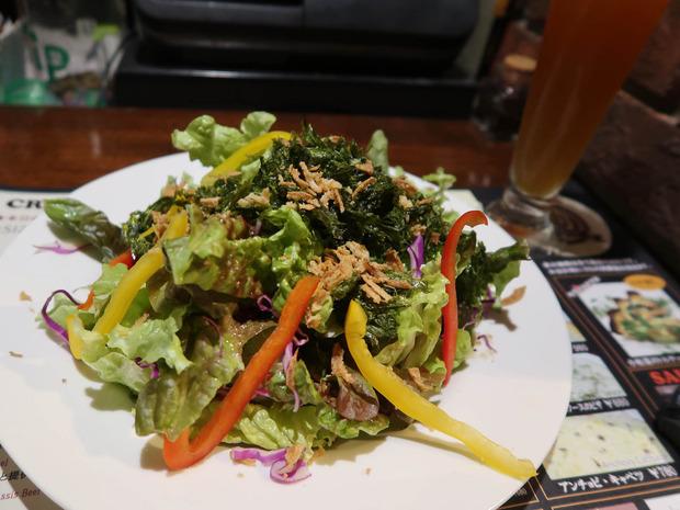 地海苔のサラダ(680円)