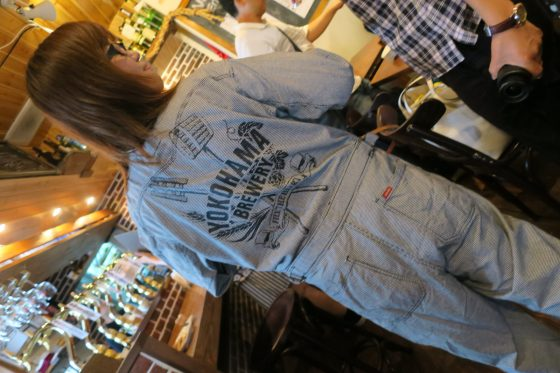 横浜ビールのつなぎ!