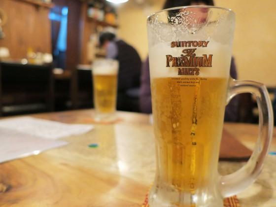 樽生ビールはプレモル