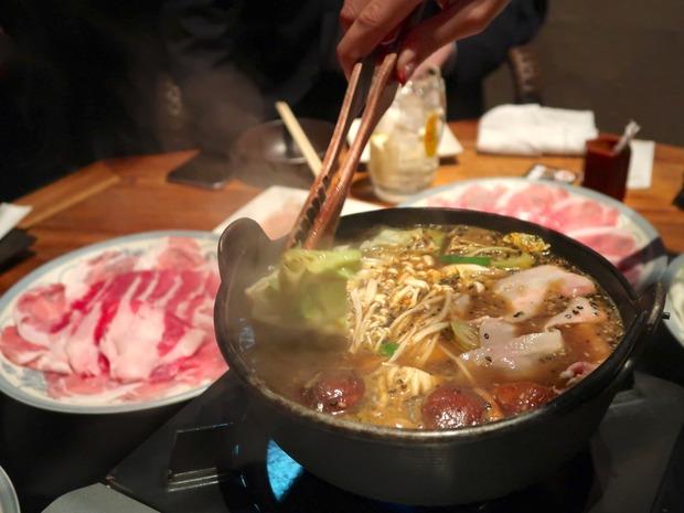 薬膳味噌鍋