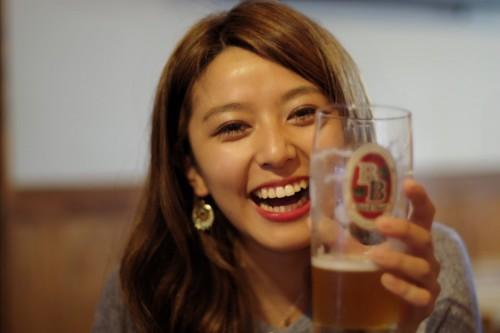 美人×麦酒 樹理さん