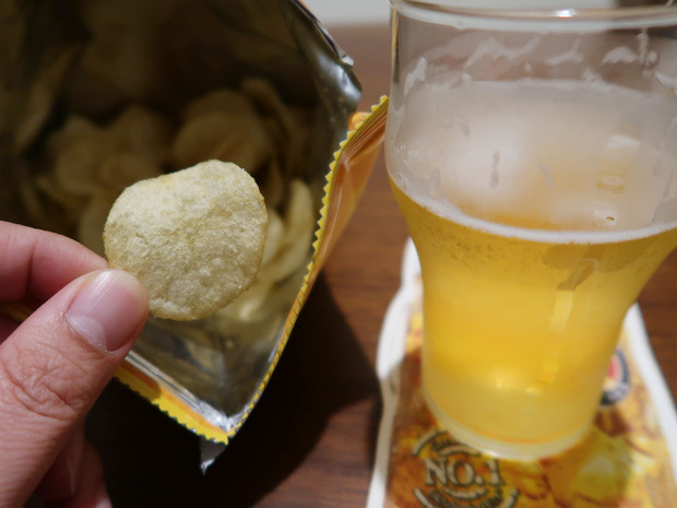 KALDI クミンポテトチップスはビールにも合います!