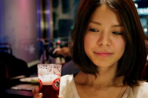 ビールは苦手です