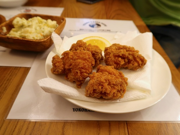 鶏の竜田揚げ(450円)