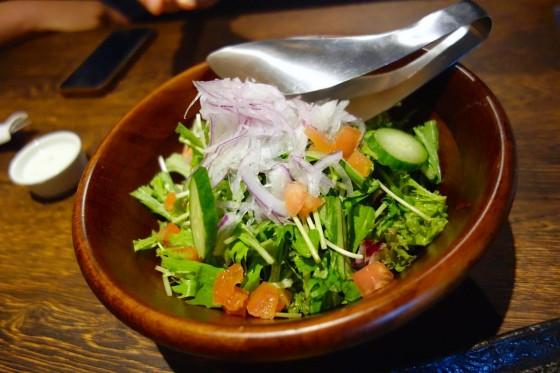 ミックスグリーンサラダ(700円)