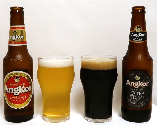 カンボジア アンコールビール&エクストラスタウト