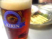 九段会館 ビールはキリン