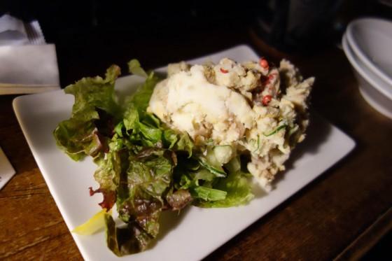 燻製玉子のポテトサラダ(680円)