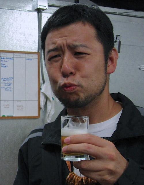 サワービールを飲んだ後の麦酒男。。。