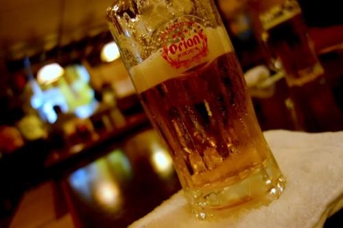 ビールはオリオン 糸満屋