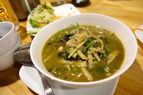 ゲーンノーマイ(たけのこのスープ)680円
