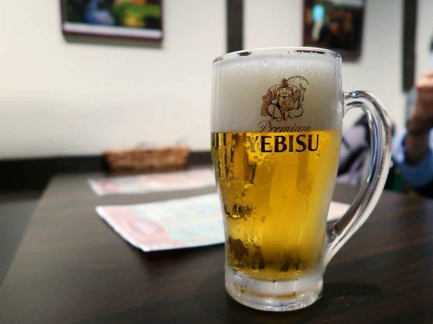 渾身のヱビスビール