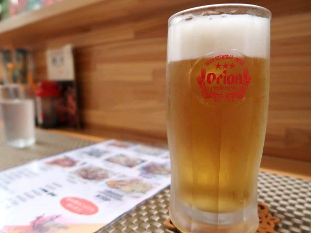 那覇・牧志 楊の店 ビール