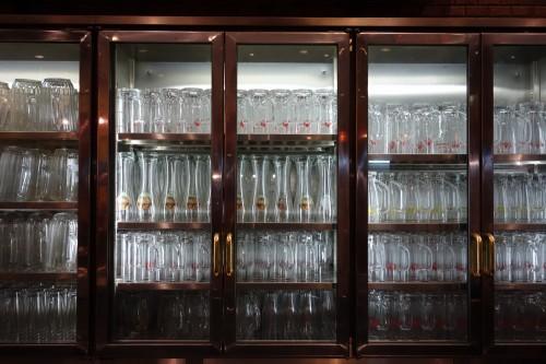 圧巻のグラス