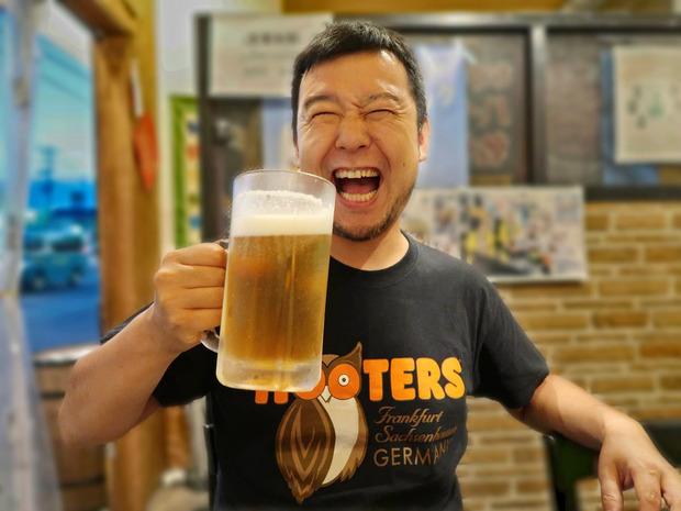 12年目の麦酒男・タカバシ