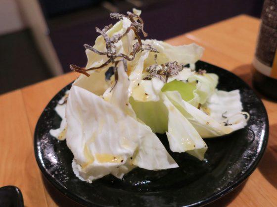 塩だれキャベツ(120円)