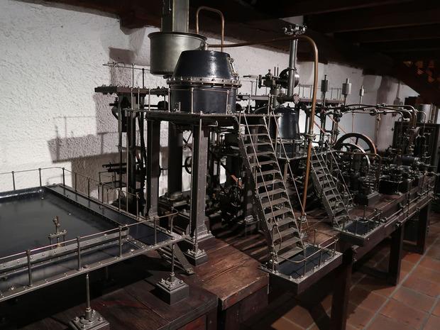 昔の醸造設備