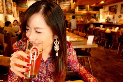 美人×麦酒 愛さん