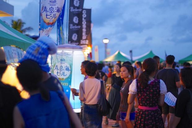 沖縄オクトーバーフェストの様子
