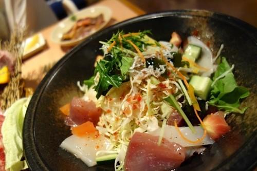 石垣産海鮮サラダ