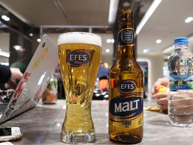 トルコ EFES MALT