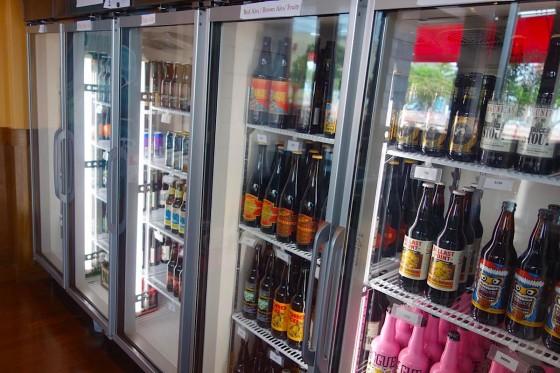 冷蔵庫にはボトルビール