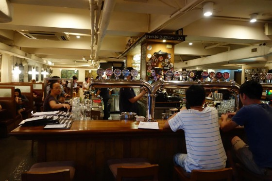 The Globe 店内