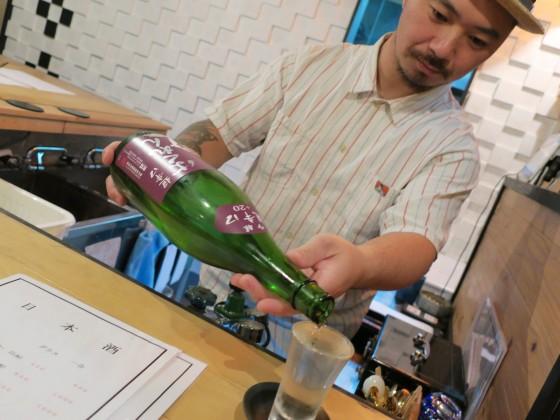 日本酒 ばくれん