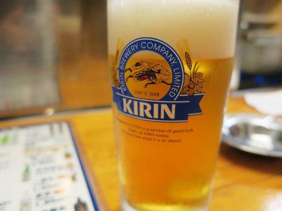ビールはキリンラガー