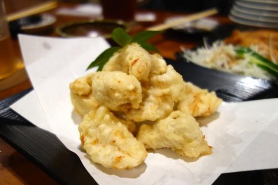 白身魚の竜田揚げ