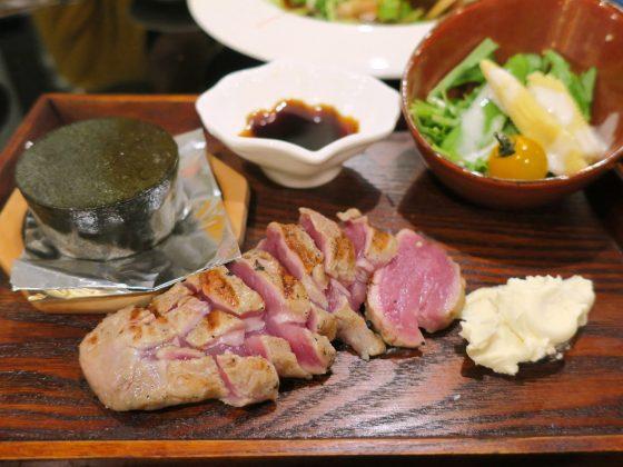 アグー豚のヒレ(850円)