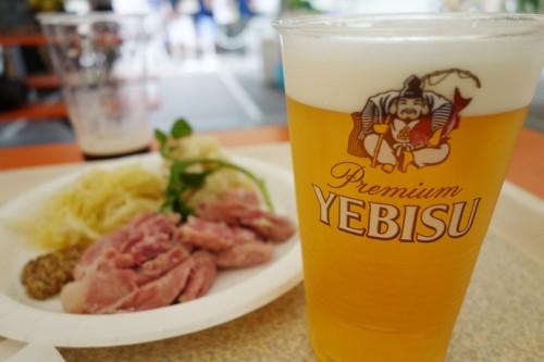 ヱビスビールで乾杯!