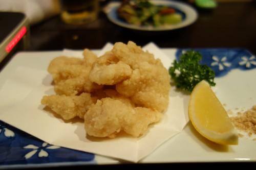 ミノの天ぷら