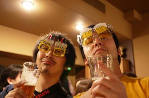 麦酒男&ニセ麦酒男